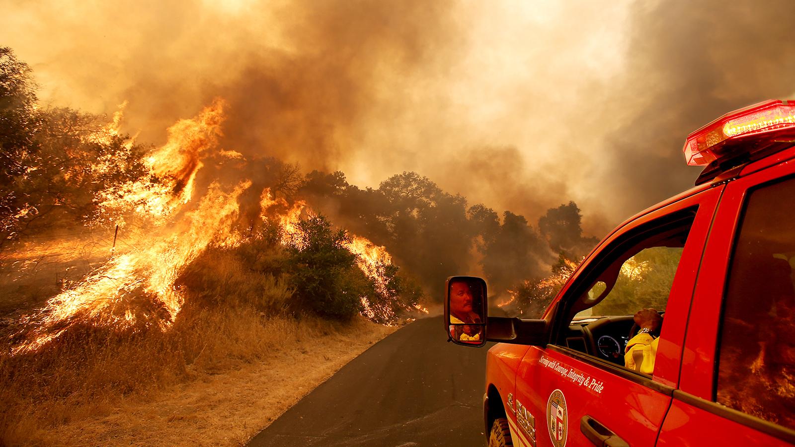 Blaze-y Days of Summer Return with Fires Threatening Mount Eden, Bien Nacido