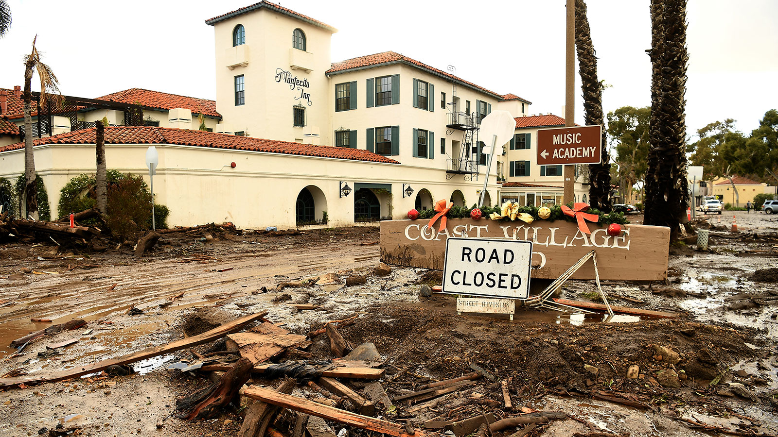 Shocking new photos show devastating extent of California mudslides