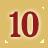 rank #10